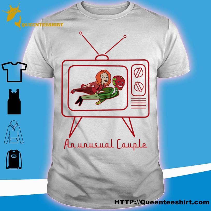 Wanda Vision sweatshirt An Unusual Couple TV shirt