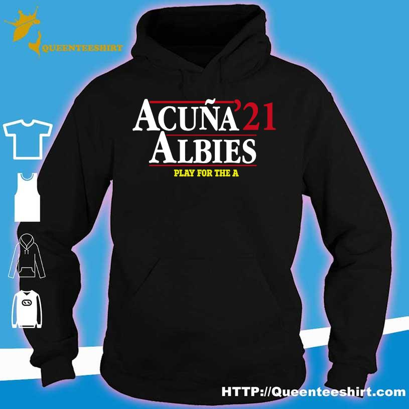 Acuna 21 Albies play for the a hoodie