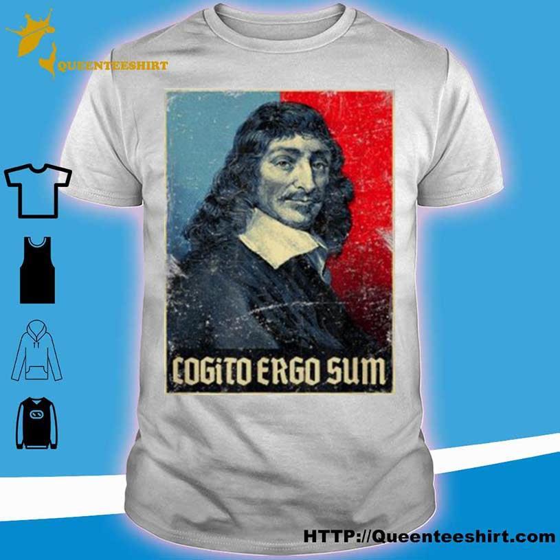 Cogito ergo sum shirt