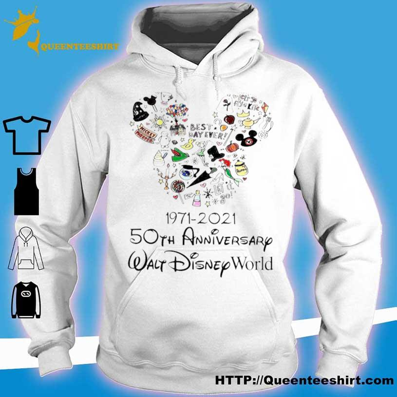 1971 2021 50th Anniversary Mickey Mouse Shirt hoodie