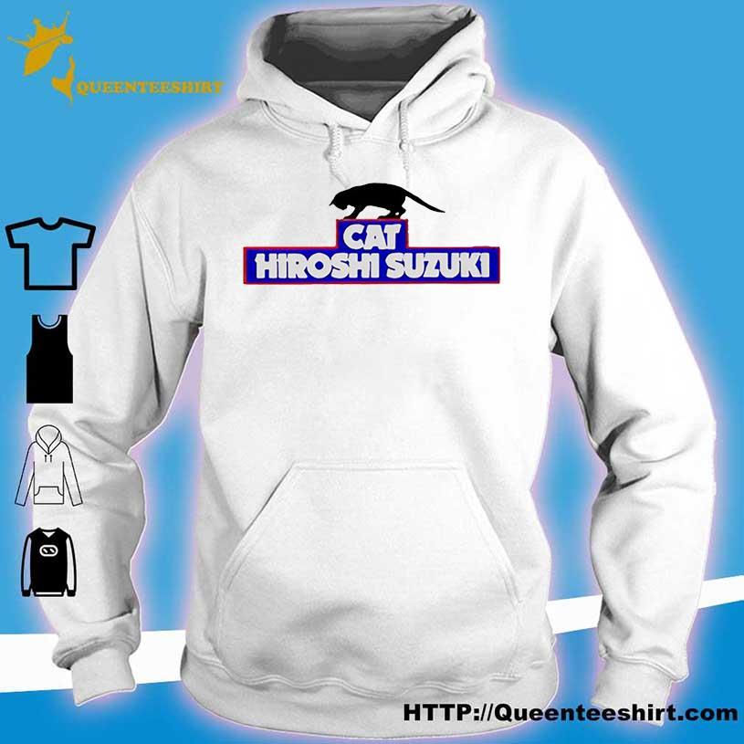 Black Cat Hiroshi Suzuki s hoodie
