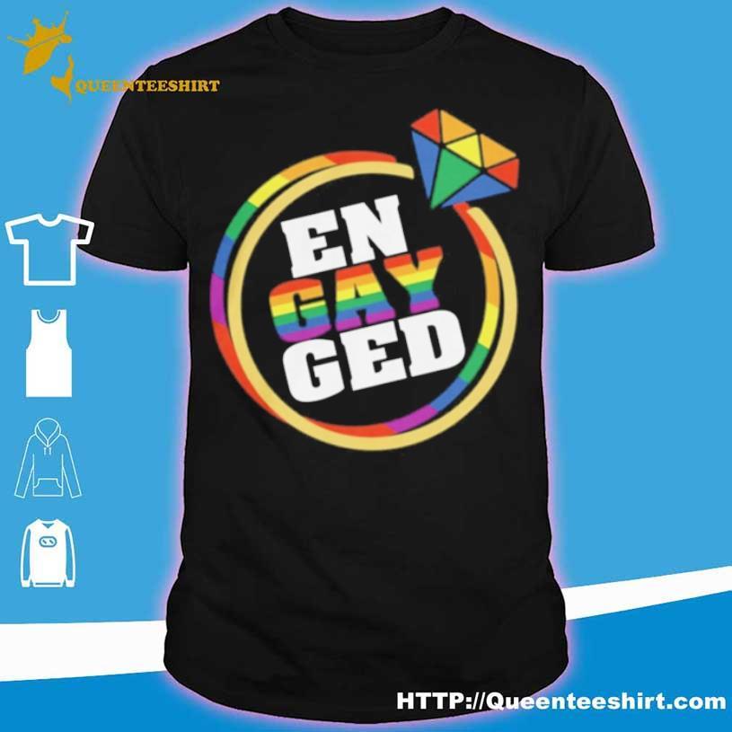 Lgbt En Gay Ged Shirt