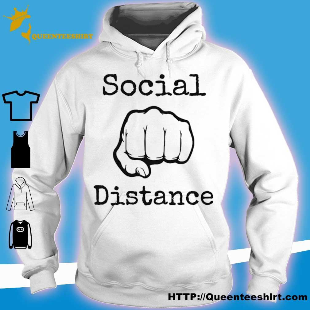 2020 Social Distance No Touching Fist Bumps Shirt hoodie