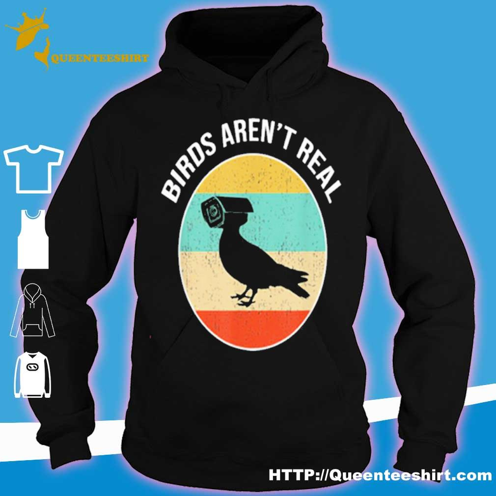 Birds Arent Real Vintage Shirt hoodie
