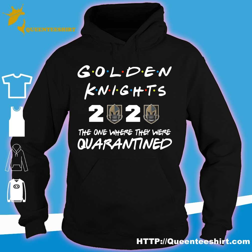 Golden Knights 2020 the one where they were quarantined s hoodie