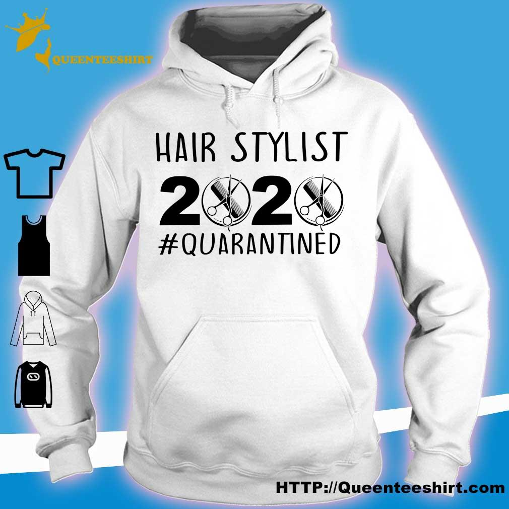 Official Hair stylist 2020 quarantined s hoodie