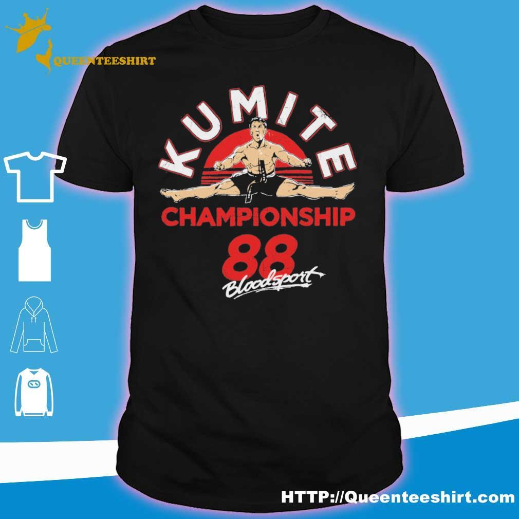 Official kumite championship 88 bloodsport shirt