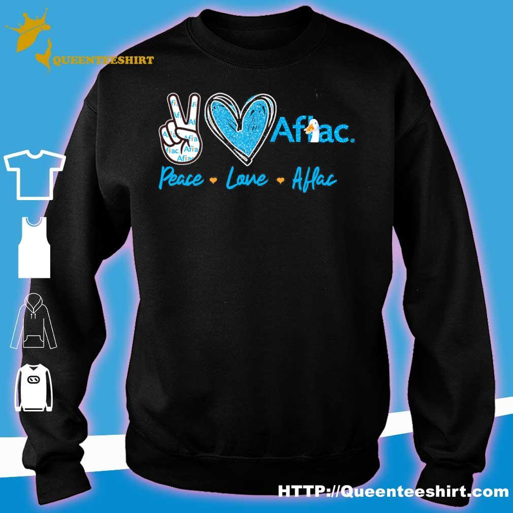 Peace Love Aflac Diamond Shirt sweater