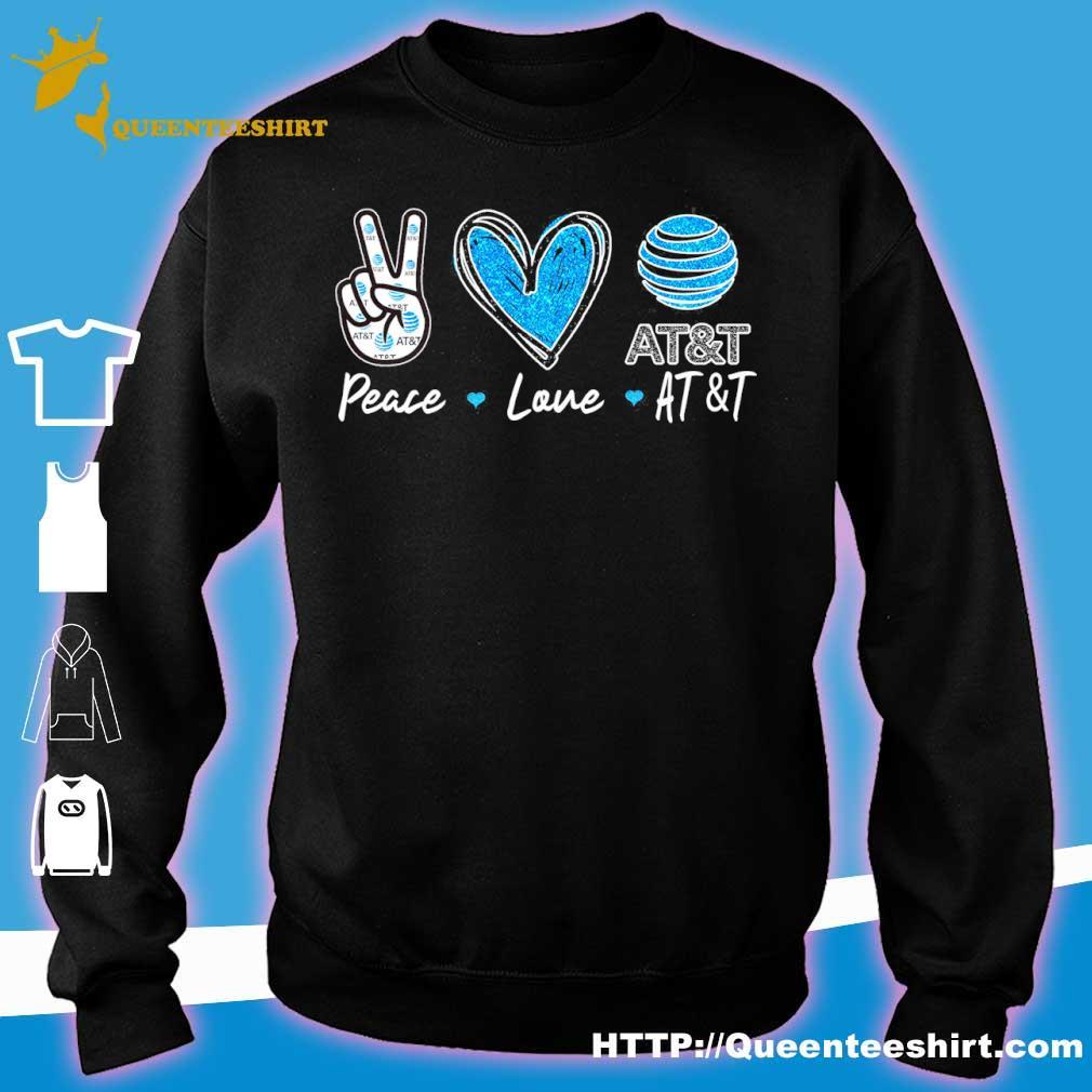 Peace Love At_t Diamond Shirt sweater