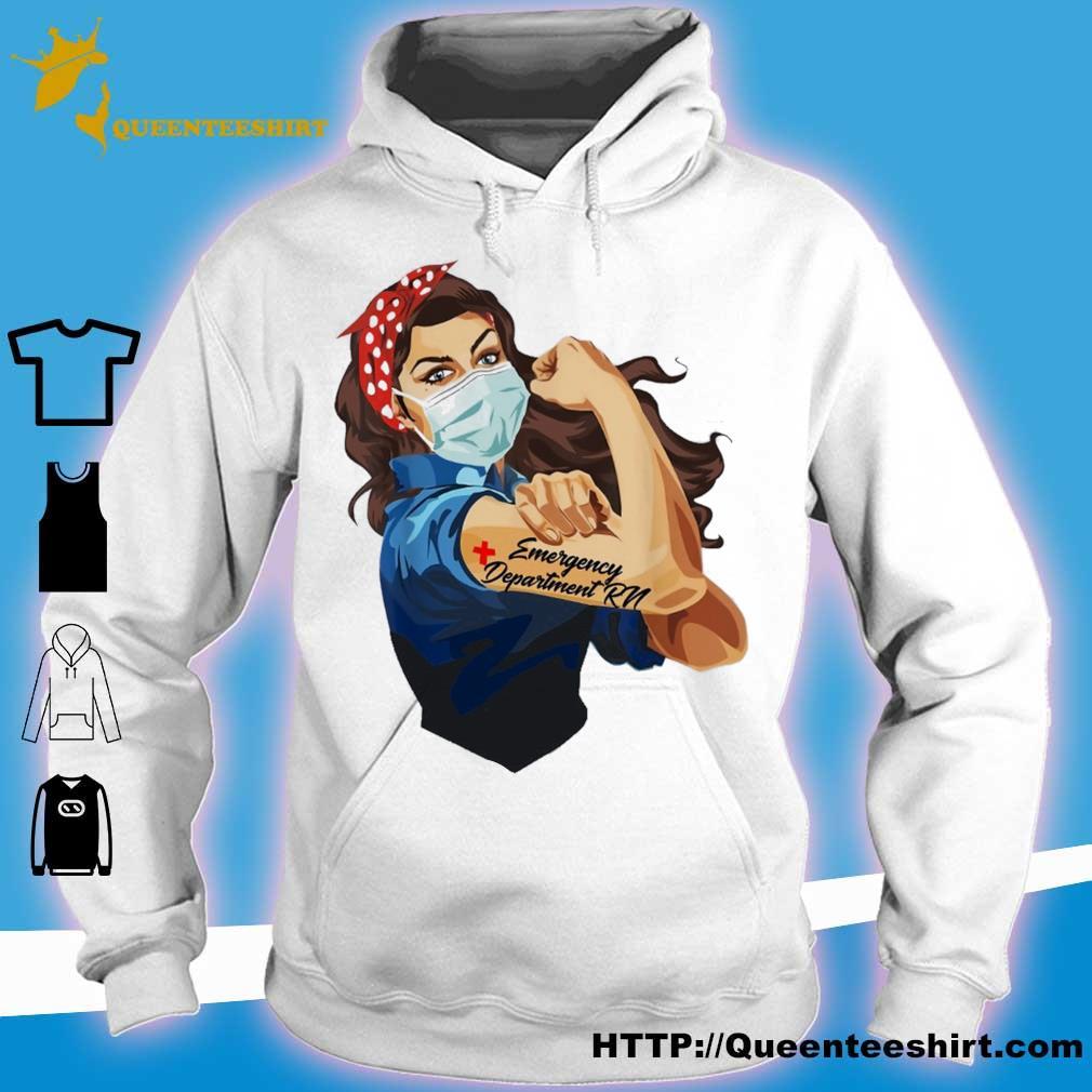 Strong woman emergency department rn s hoodie