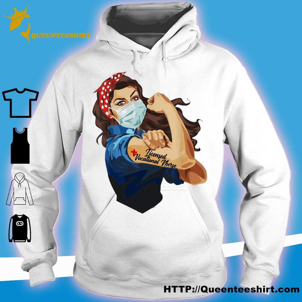 Strong woman Licensed vocational nurse s hoodie
