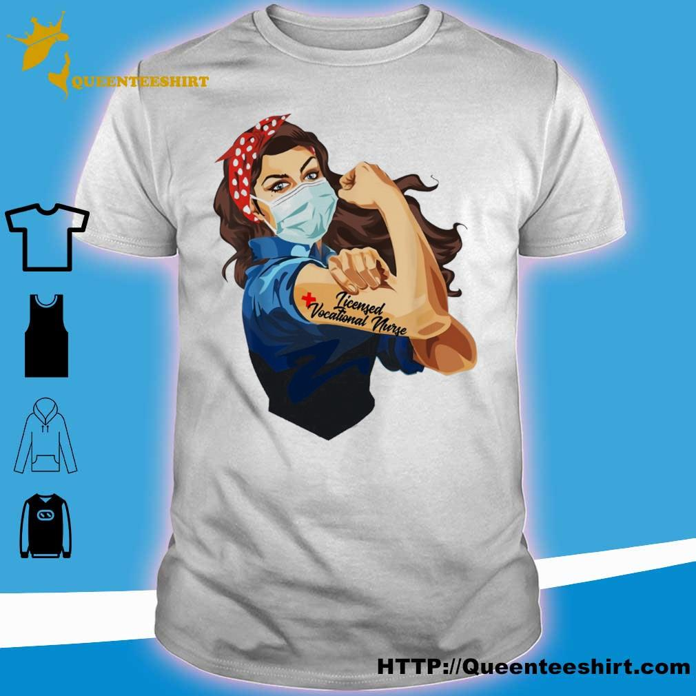 Strong woman Licensed vocational nurse shirt