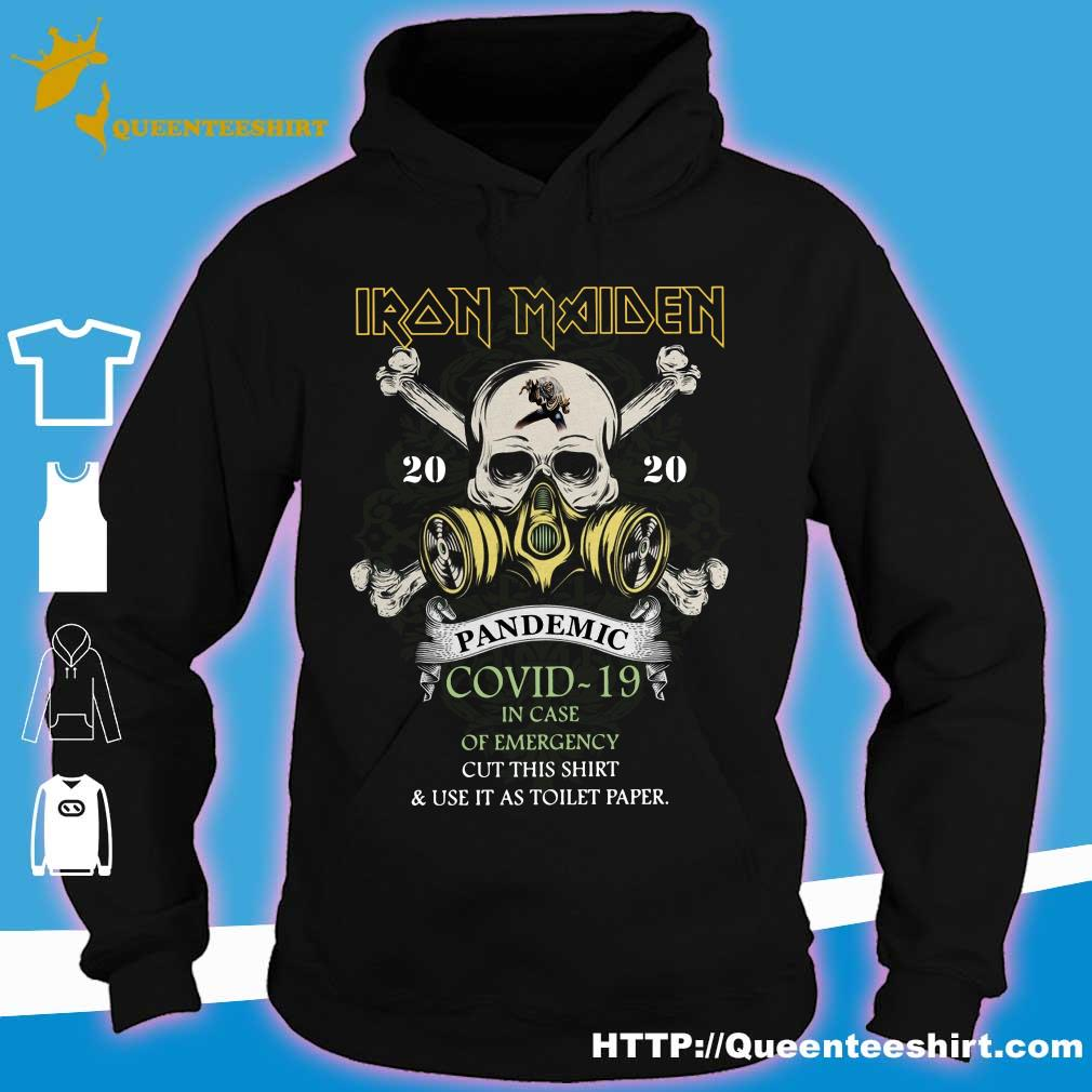 Iron Maiden 2020 pandemic covid-19 s hoodie