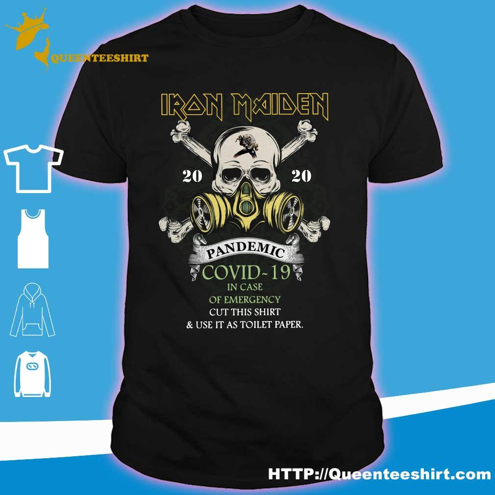 Iron Maiden 2020 pandemic covid-19 shirt