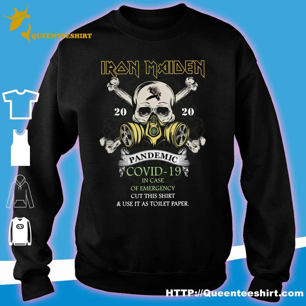 Iron Maiden 2020 pandemic covid-19 s sweater
