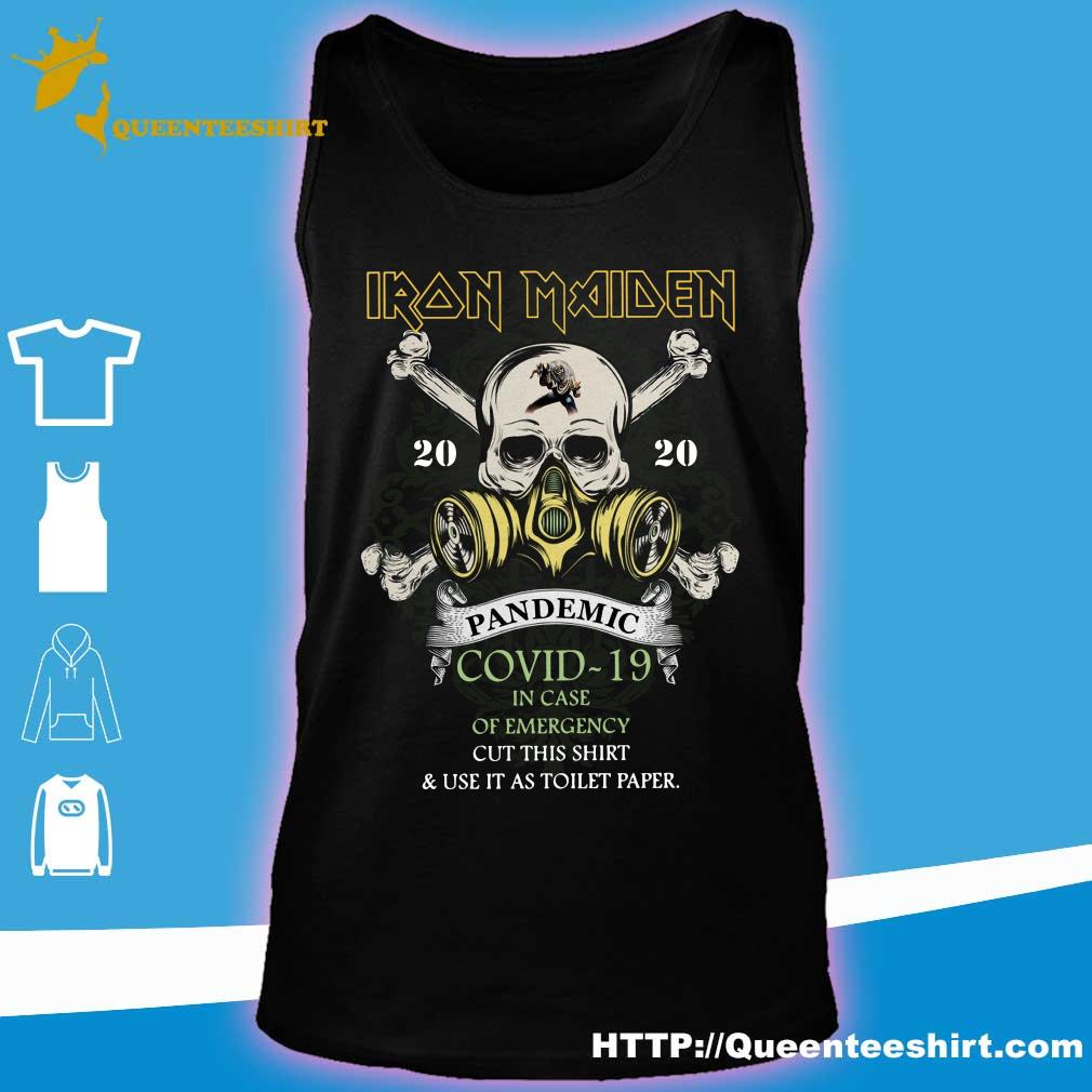 Iron Maiden 2020 pandemic covid-19 s tank top