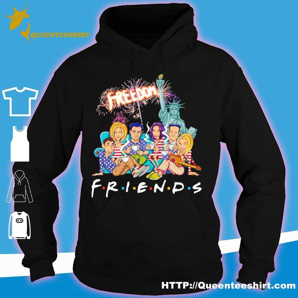 Friends freedom american Flag Day s hoodie