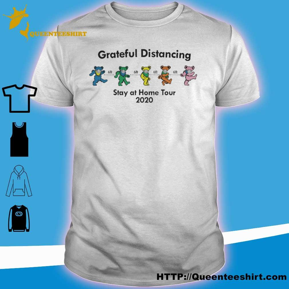 Grateful Dead Bear Distancing Stay At Home Tour 2020 Shirt