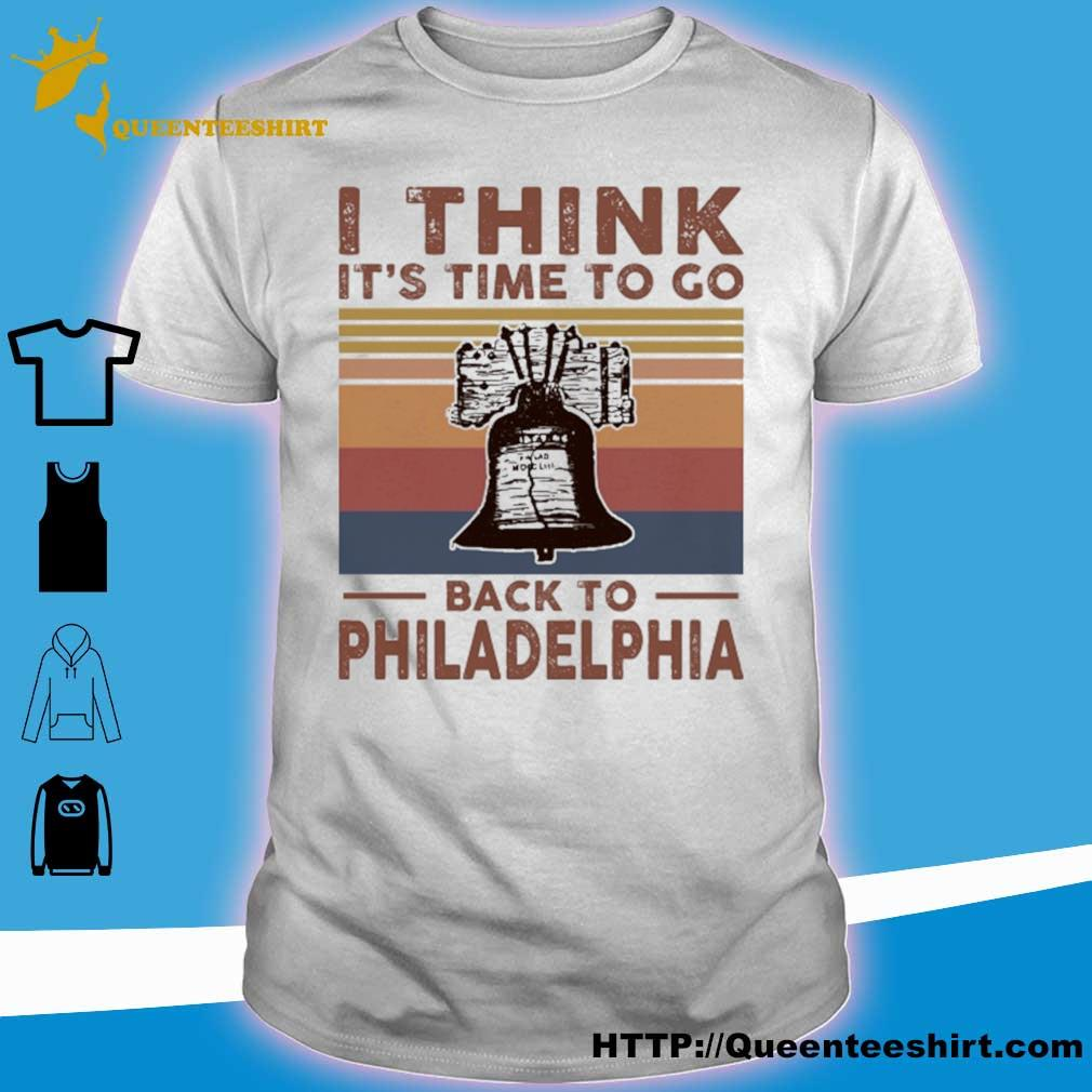 I think it's time to go back to Philadelphia vintage shirt