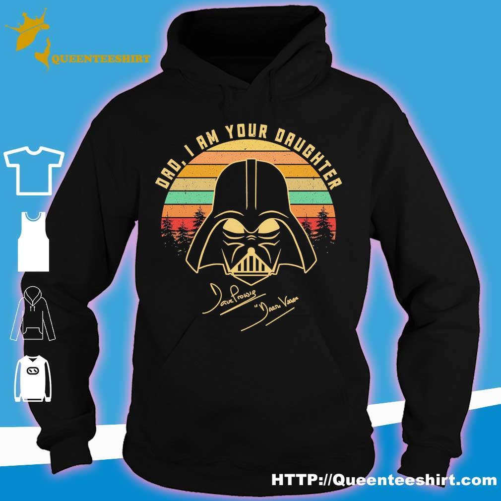 Mandalorian Dad i am your daughter signatures vintage s hoodie