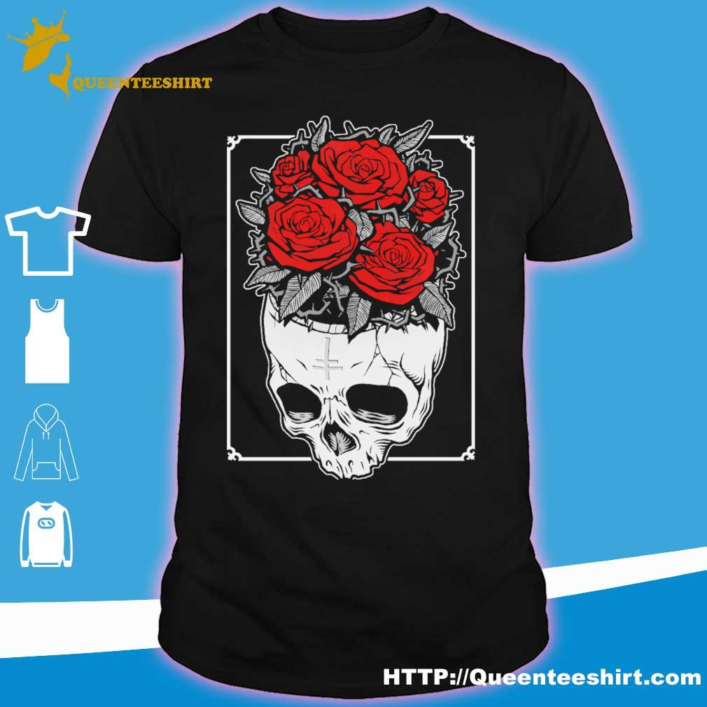 Skull Roses shirt