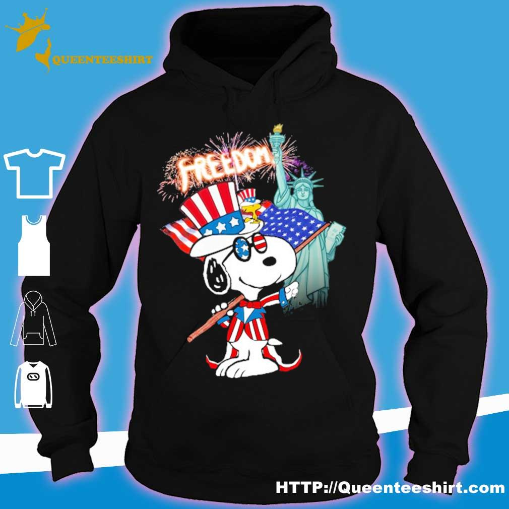 Snoopy Flag Day freedom s hoodie