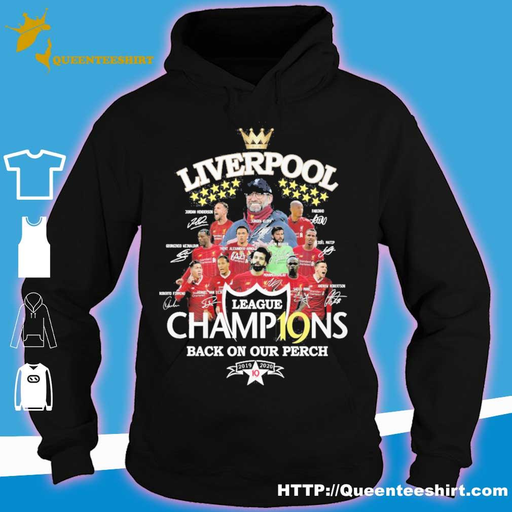 Liverpool League champions back on our perch vintage s hoodie