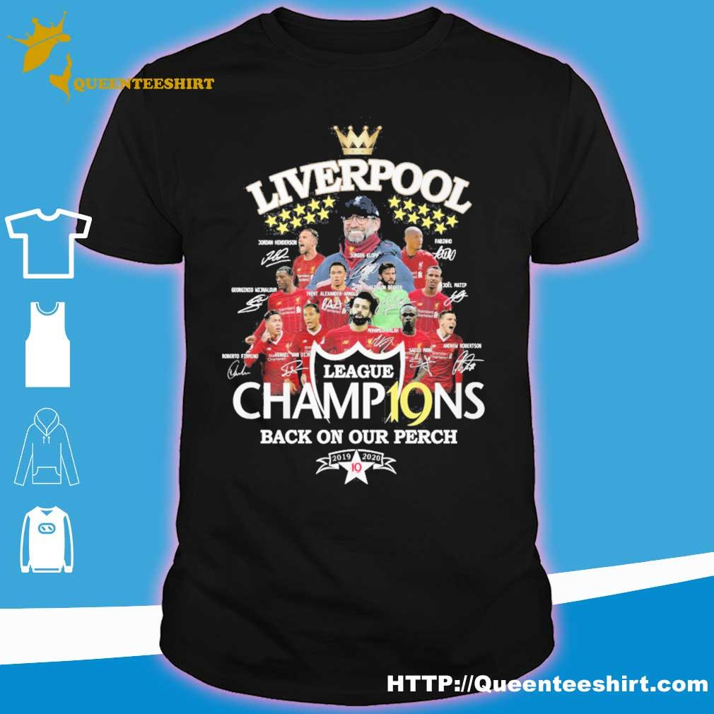 Liverpool League champions back on our perch vintage shirt