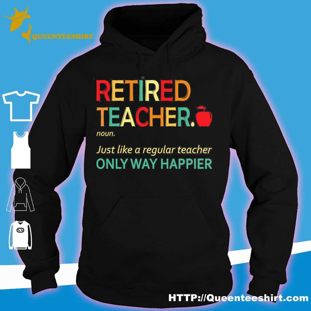 Retired teacher definition s hoodie