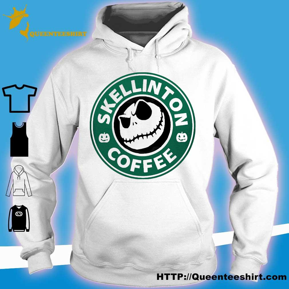 Skellington coffee s hoodie