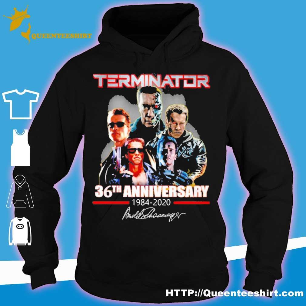 Terminator 36th Anniversary 1984 2020 signature s hoodie