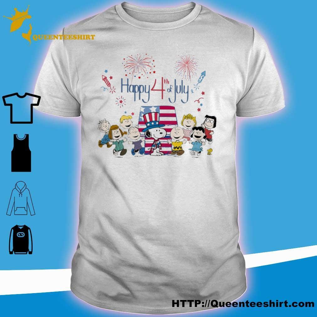 Happy 4th of July Flag Unisex Children Youth Crewneck Short Sleeve Tshirts Girl Boy Casual Tee Shirt Tops M