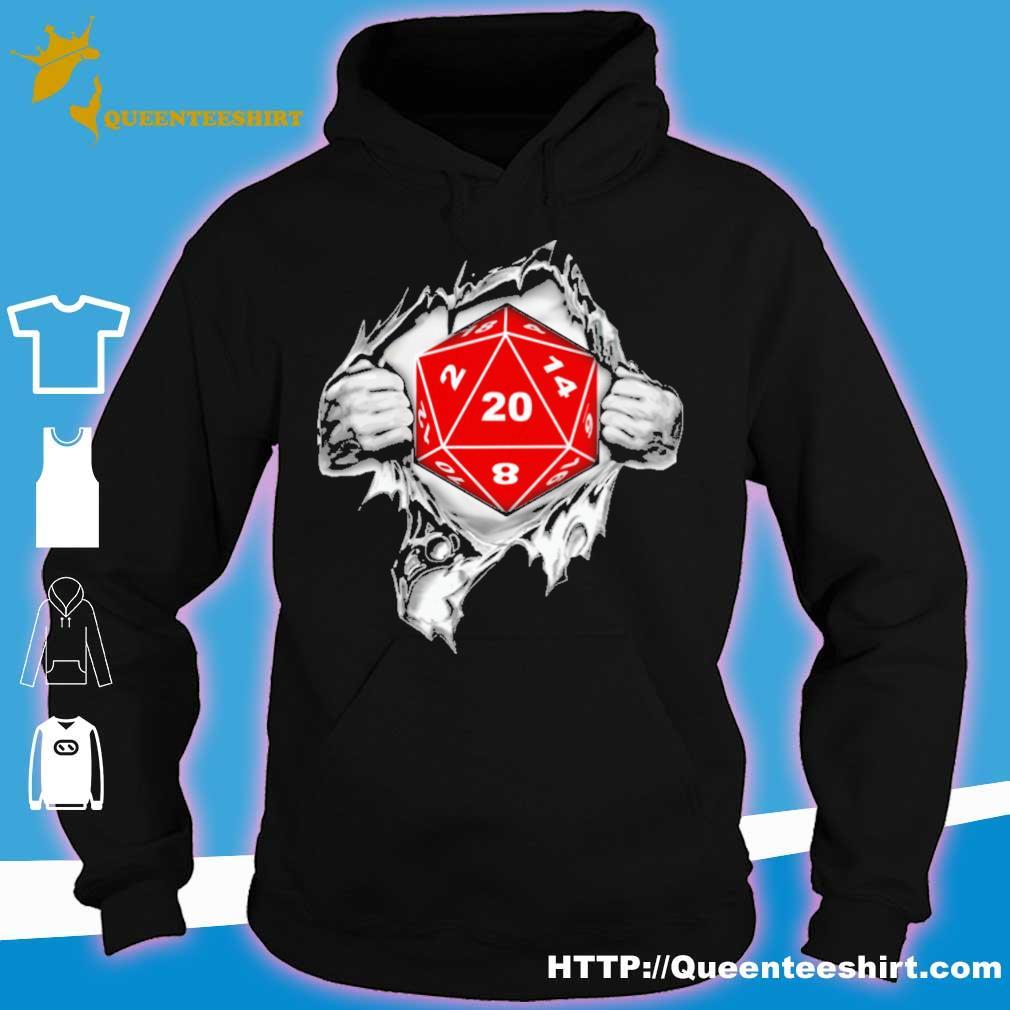 Blood inside me Dungeon s hoodie