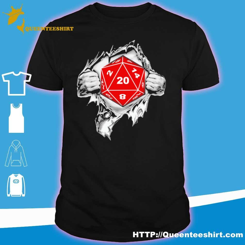 Blood inside me Dungeon shirt