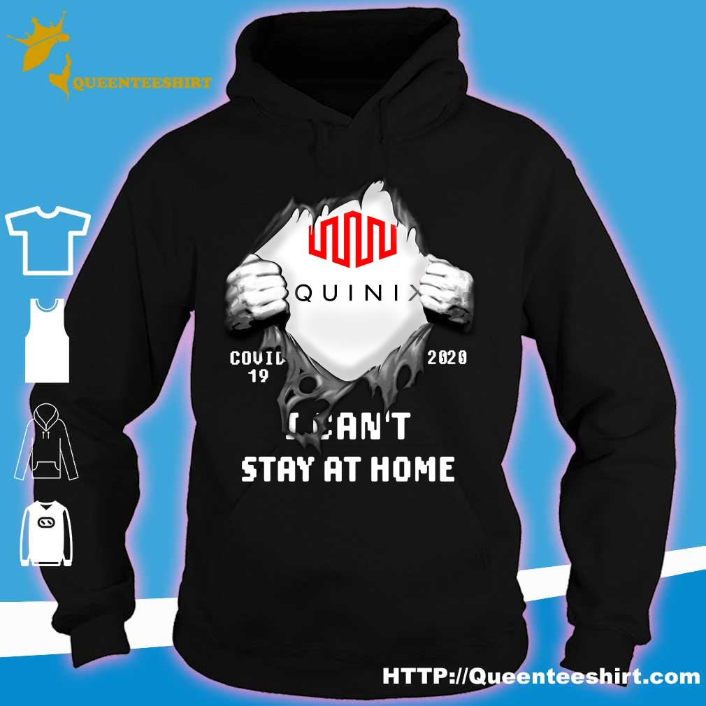 Blood inside me Equinix covid 19 2020 I can't stay at home s hoodie