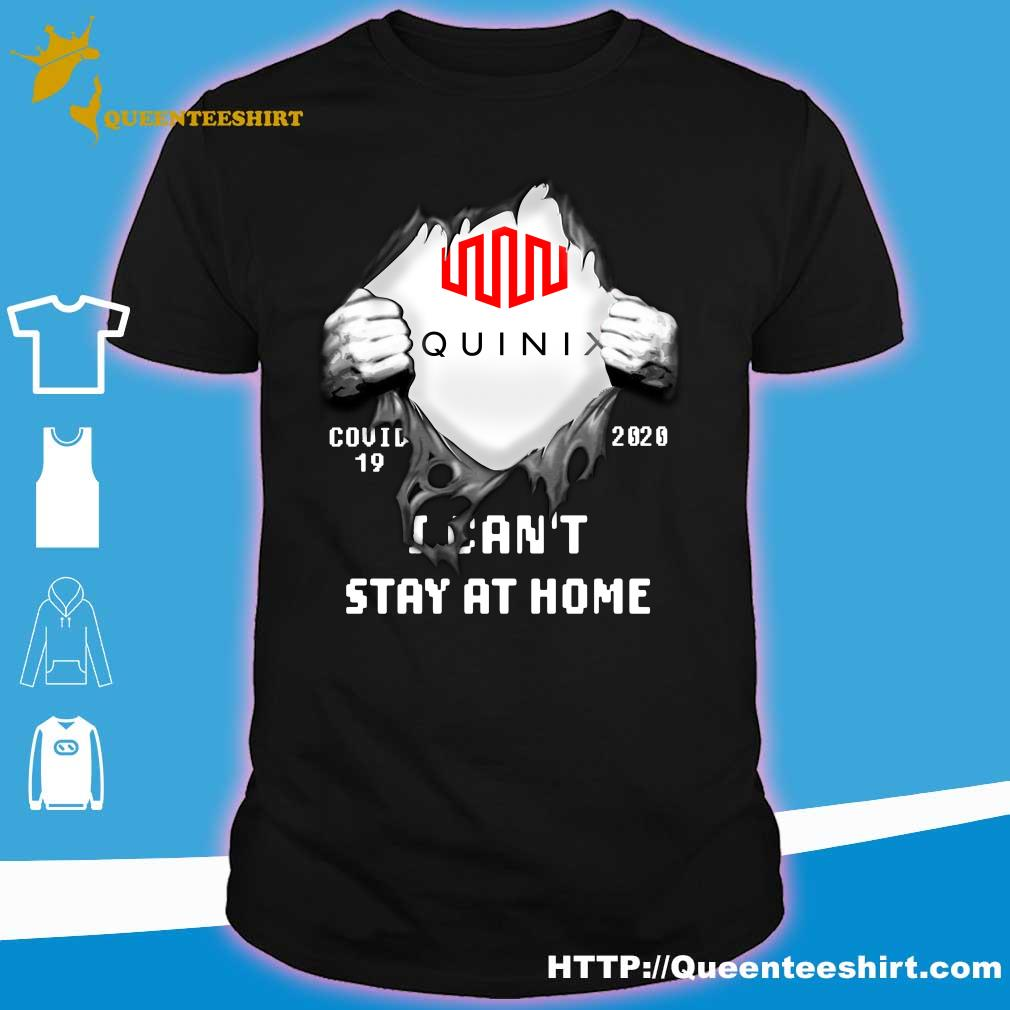 Blood inside me Equinix covid 19 2020 I can't stay at home shirt