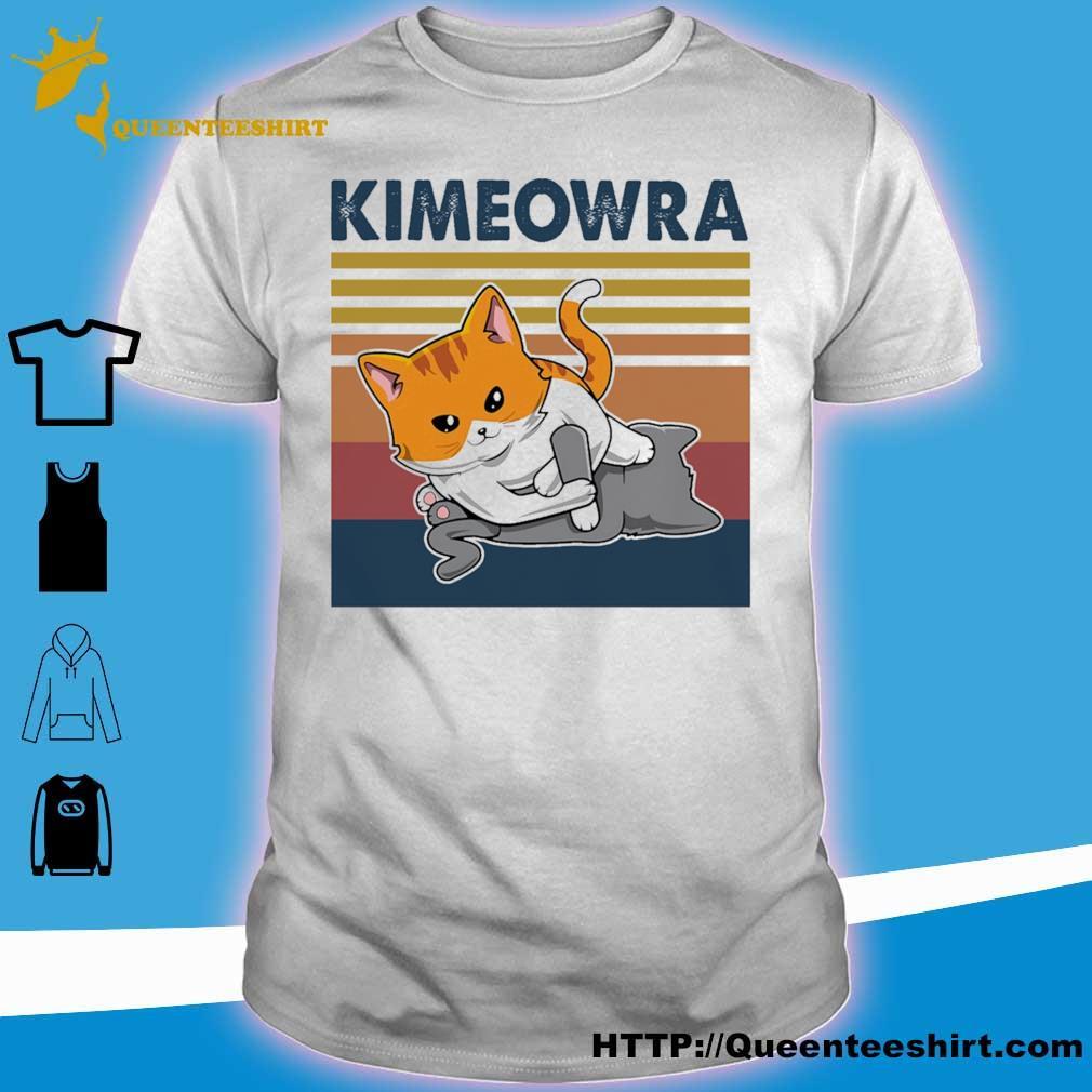 Jiu Jitsu Kimura Kimeowra Cats Shirts
