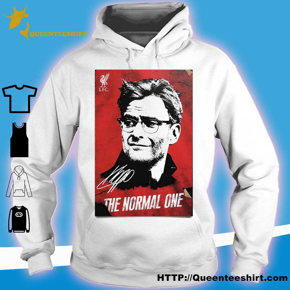 Jurgen Klopp The normal one legend signature 2020 s hoodie