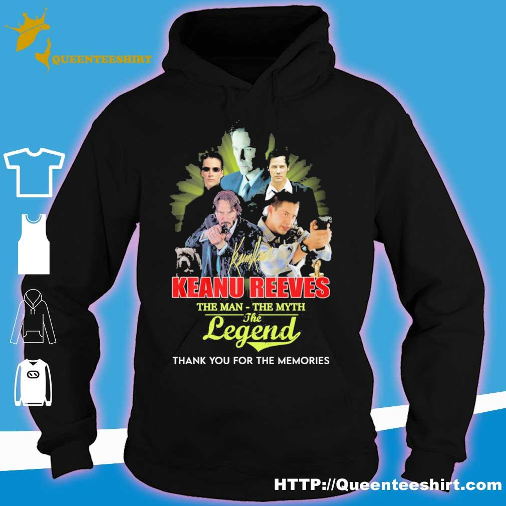 Keanu Reeves the man the Myth the legend s hoodie