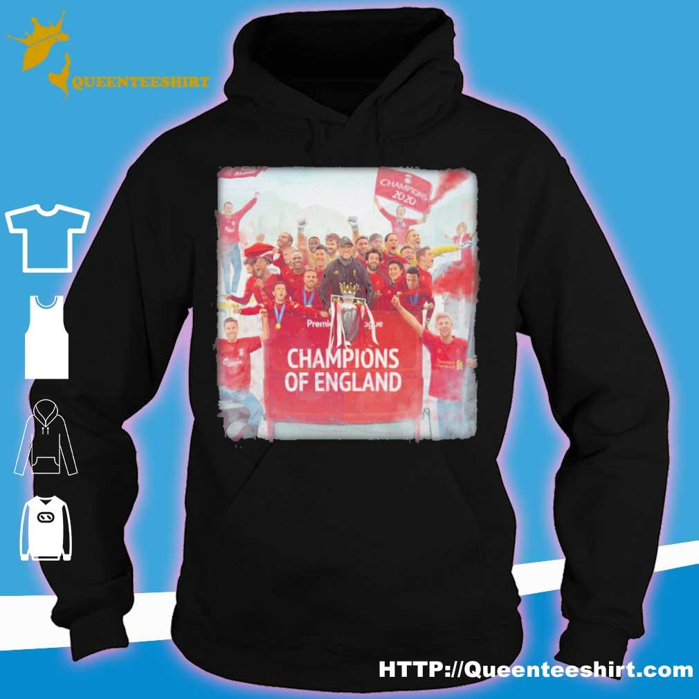 Liverpool Champions Of england Legend s hoodie