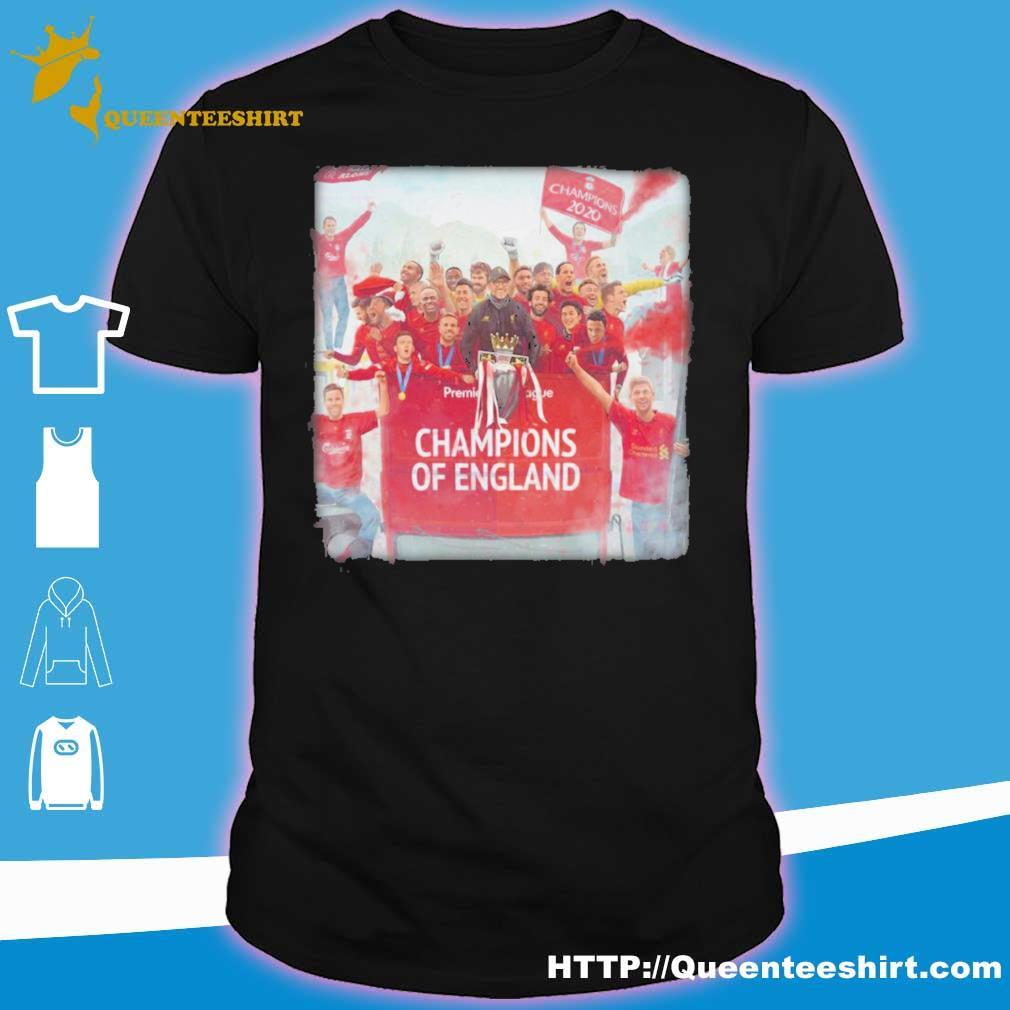 Liverpool Champions Of england Legend shirt