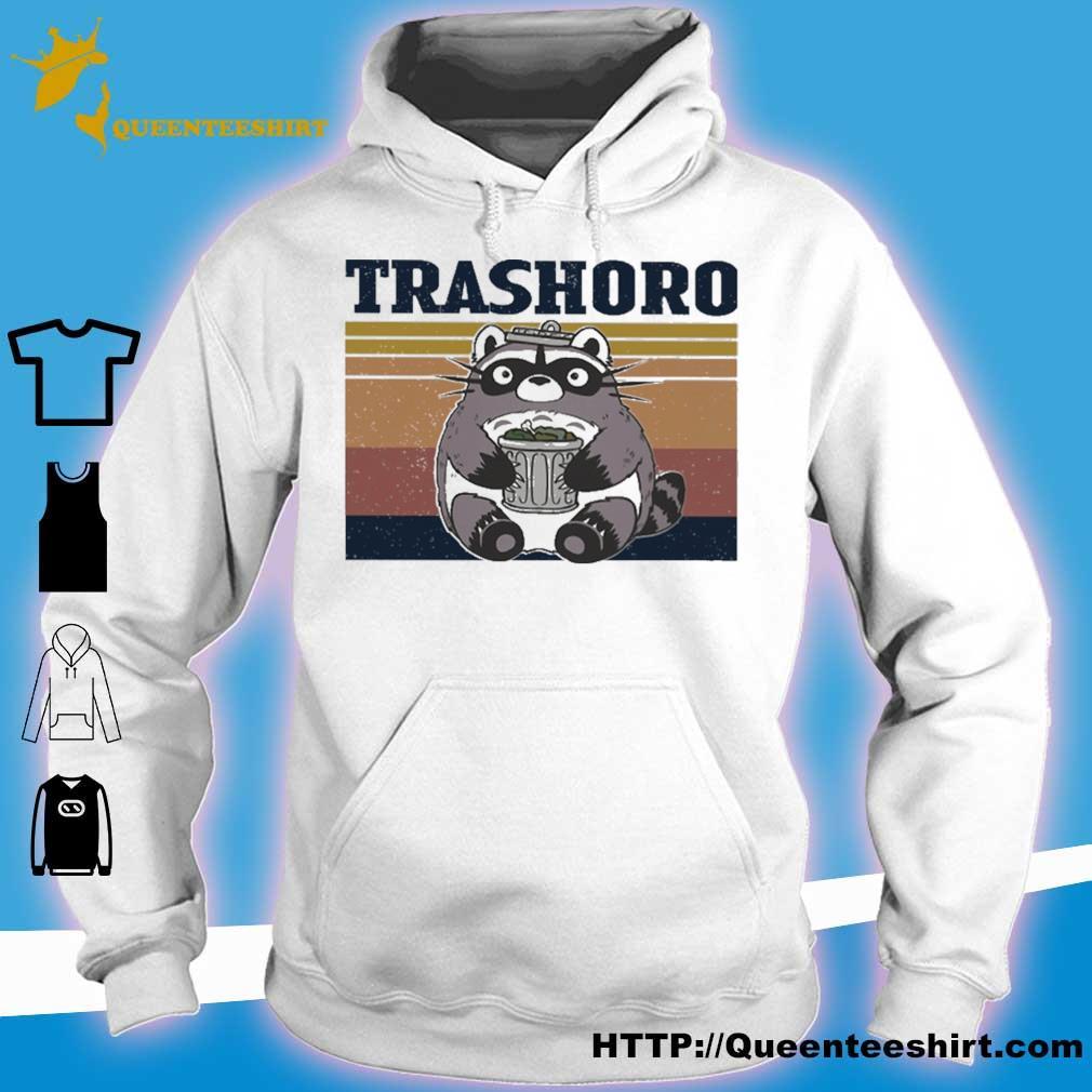 Racoon Trashoro vintage s hoodie