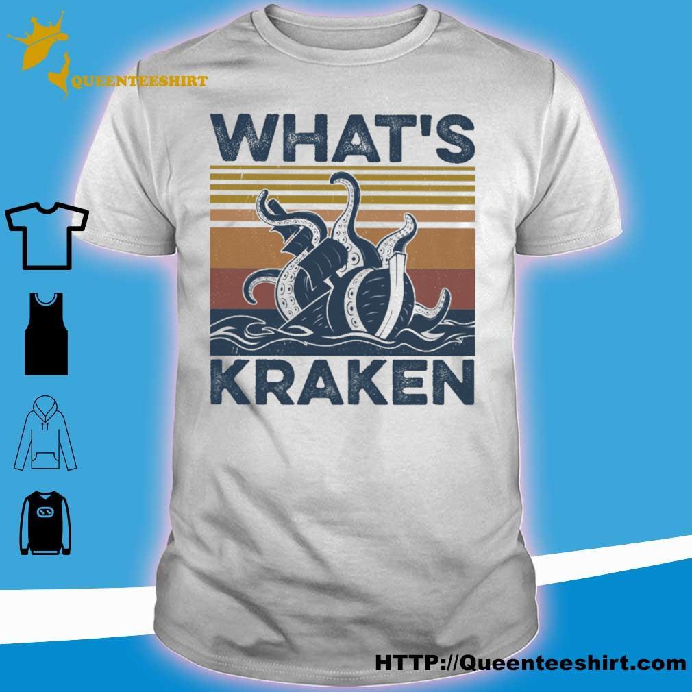 What's Kraken vintage shirt