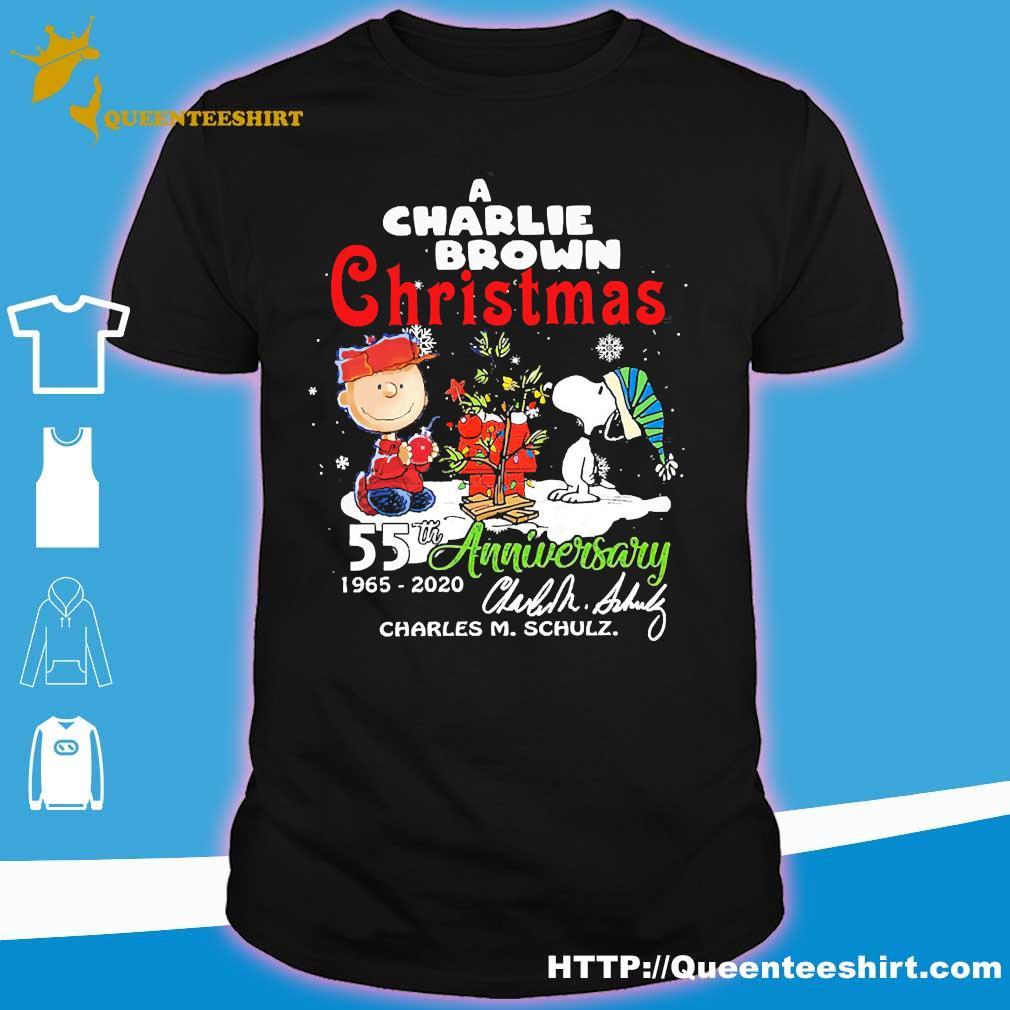 A Charlie Brown Christmas 2020 A Charlie Brown Christmas 55th anniversary 1965 2020 signature