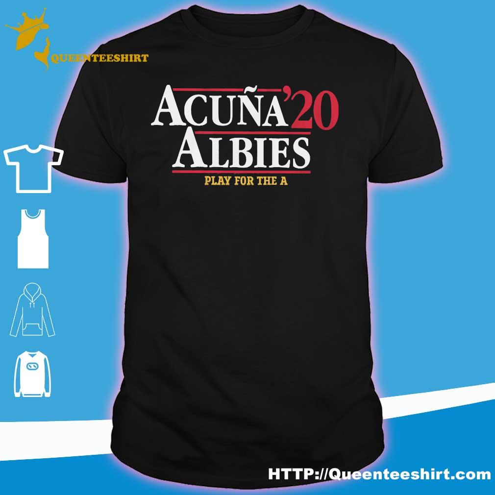 Acuna 20 Albies play for the a shirt
