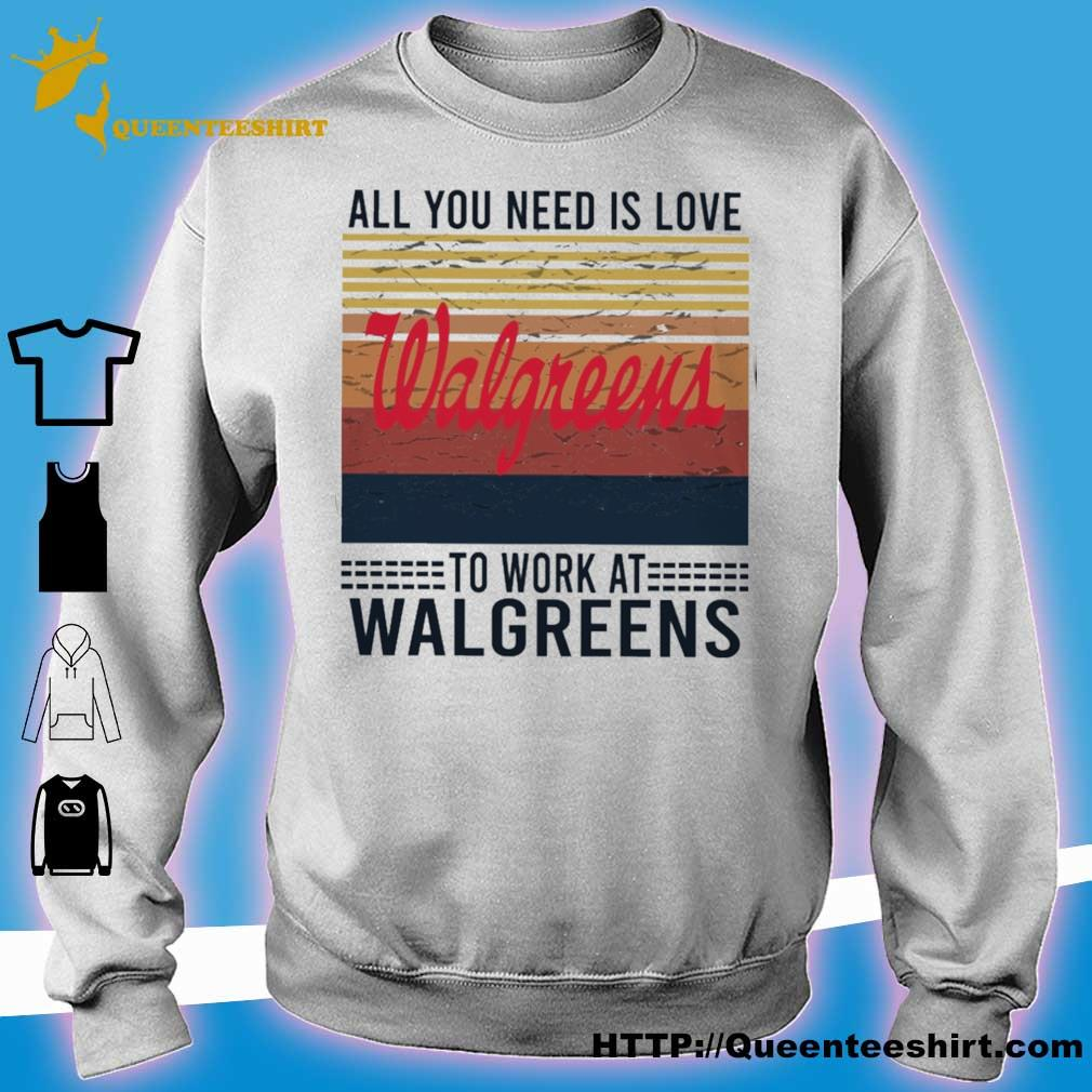 All you need is love Walgreens to work at Walgreens vintage s sweater