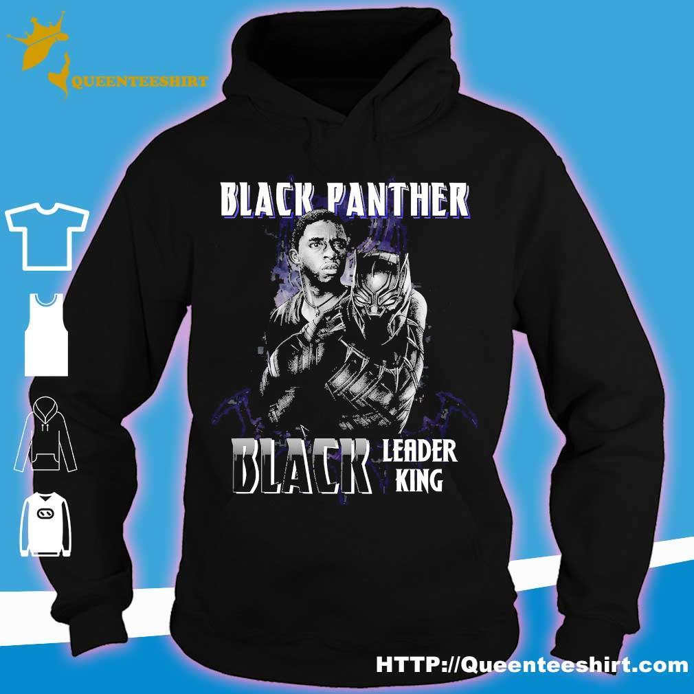 Black Panther Black leader king s hoodie