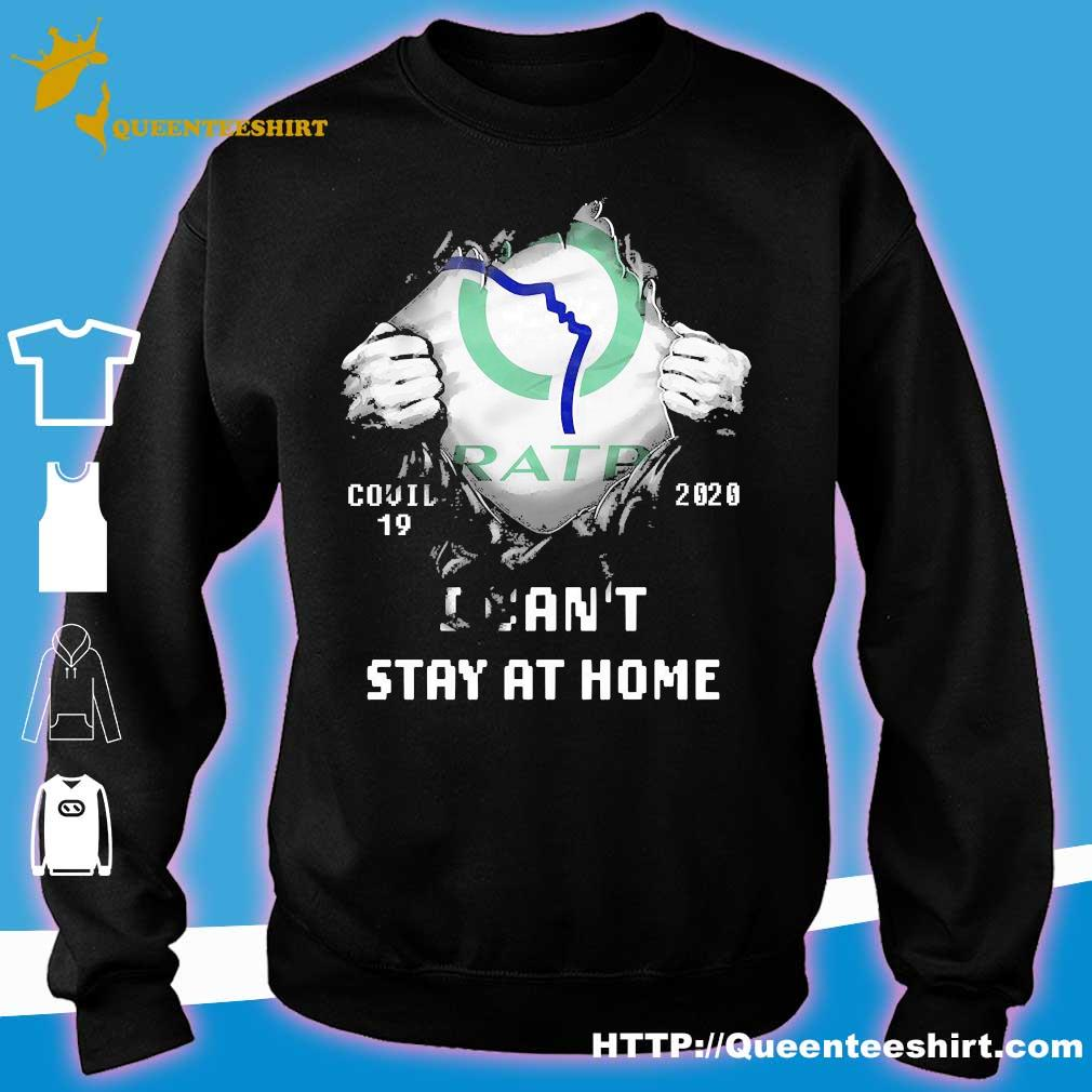 Blood inside me Ratp covid-19 2020 I can't stay at home s sweater