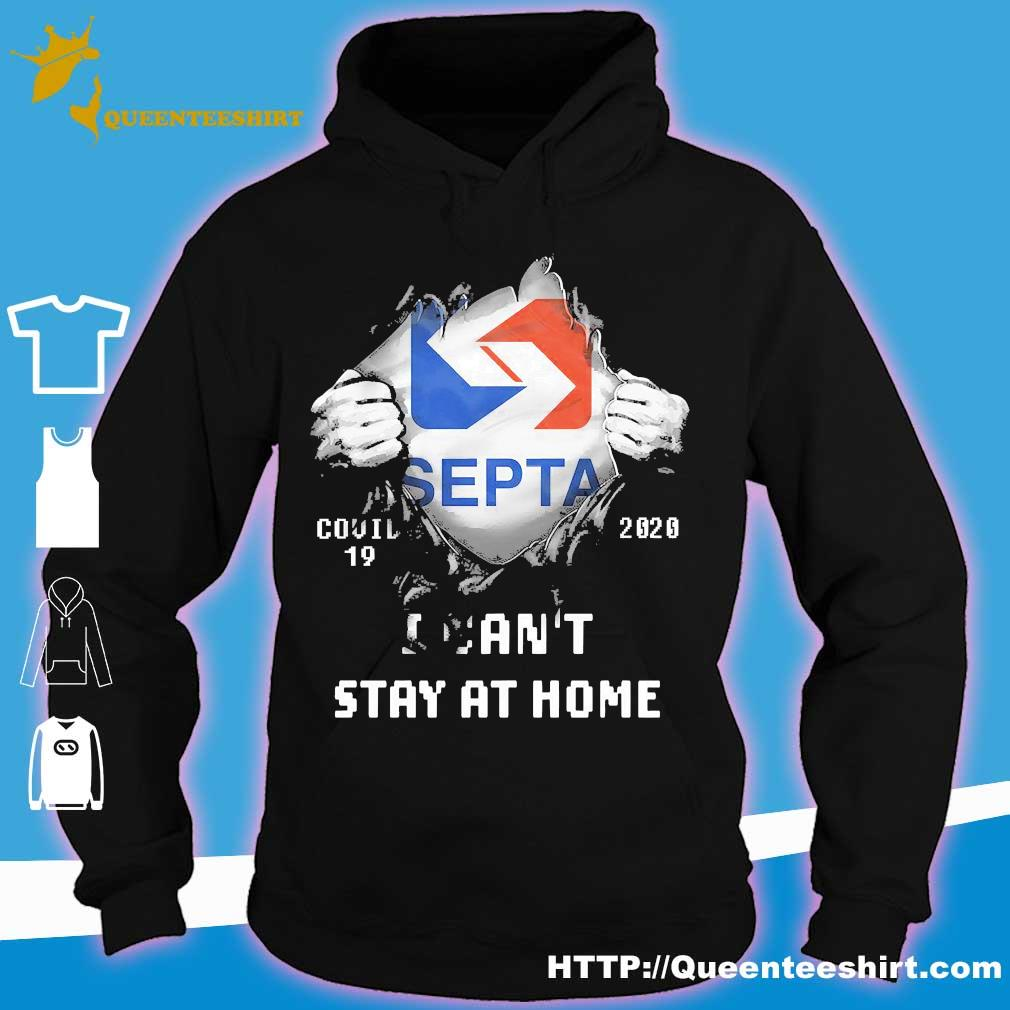 Blood inside me Septa covid-19 2020 I can't stay at home s hoodie