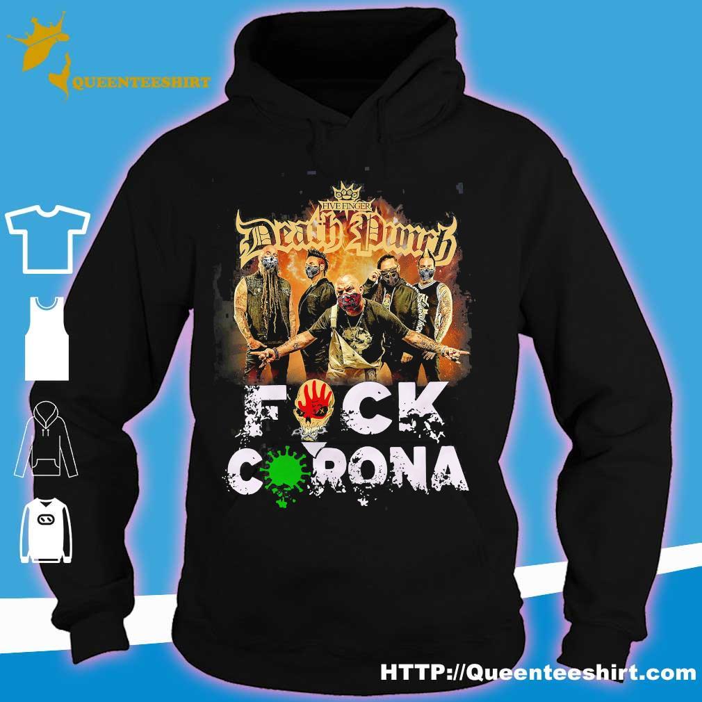 Five Finger Death Punch fuck coronavirus s hoodie